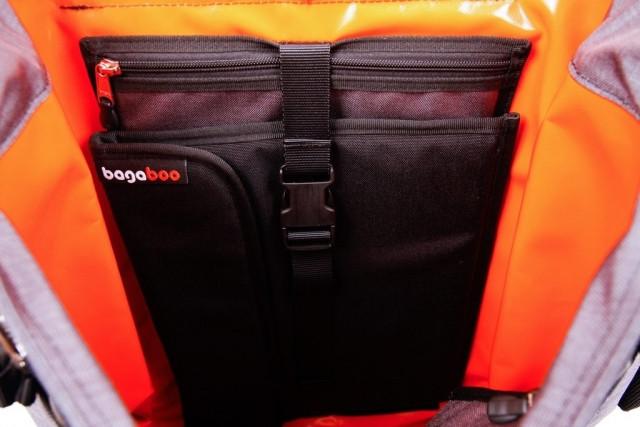 bagaboo ransel hátizsák szivacsos zseb és laptop tartó tok
