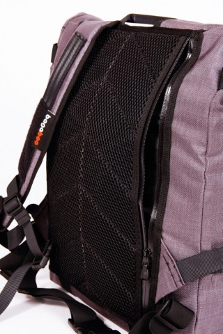 bagaboo ransel hátizsák hátsó szivacs mögötti zseb