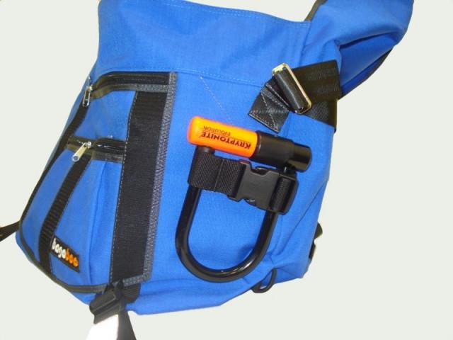 bagaboo messenger bag u-lock holder