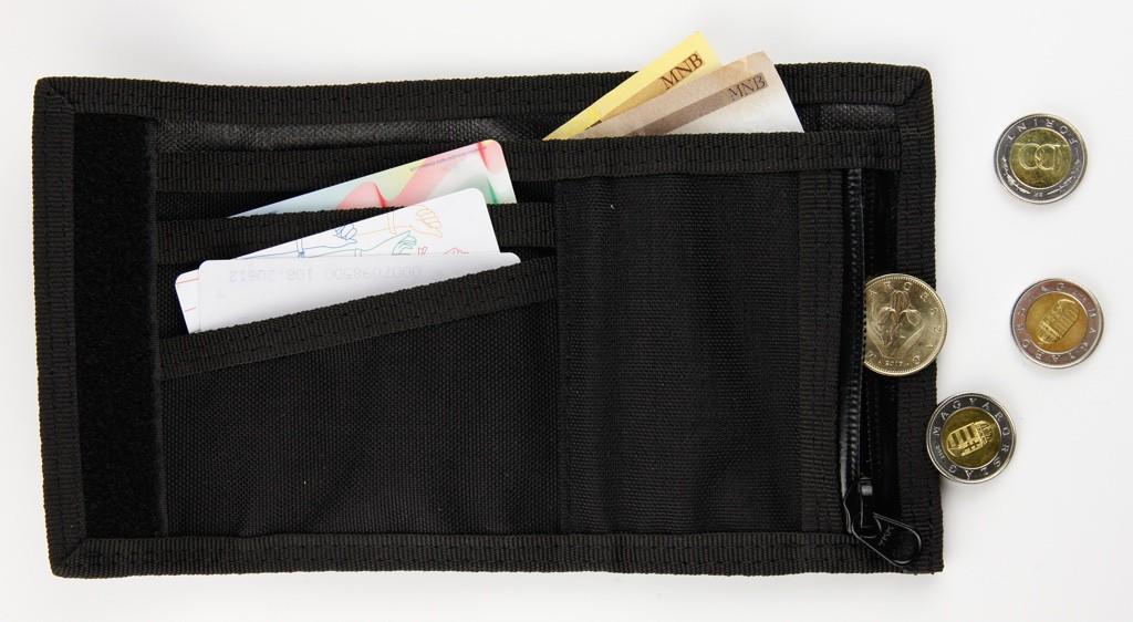 bagaboo péntárca zsebekkel készpénznek, aprónak, kártyáknak