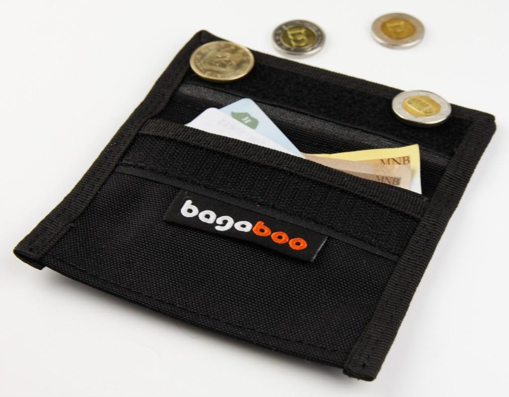 bagaboo pénztartó készpénznek, kártyáknak, aprónak