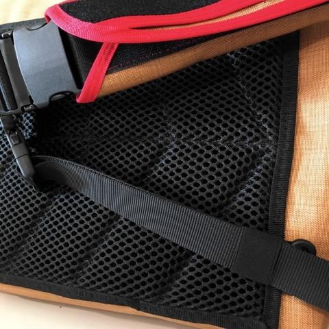 bagaboo workhorse messenger táska légáteresztő szivacs