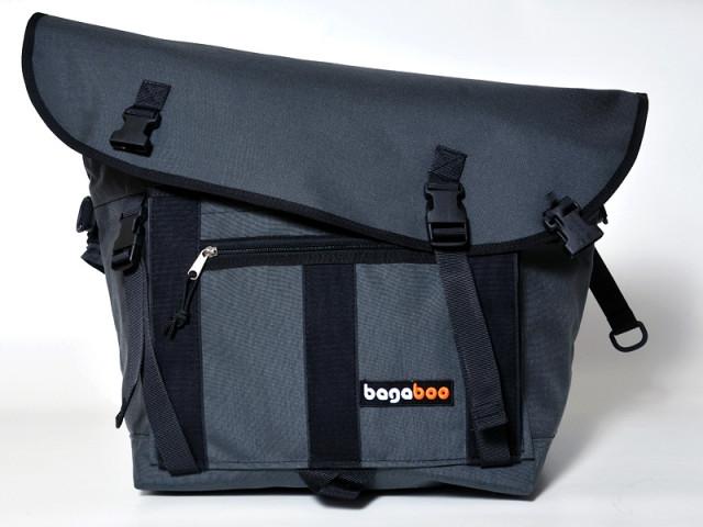 bagaboo workhorse messenger táska külső zseb