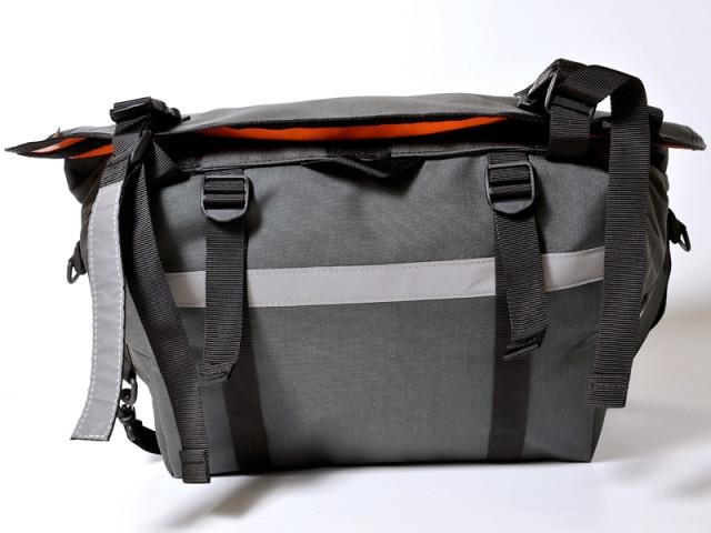 bagaboo workhorse messenger táska extra fényvisszaverő és összehúzó heveder