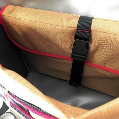 bagaboo workhorse messenger táska laptoptartó tok