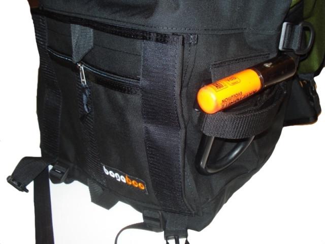 bagaboo workhorse messenger táska u-lakat tartó