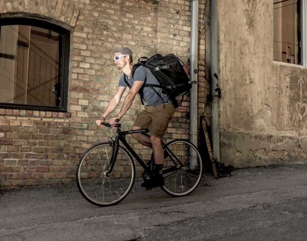 bagaboo chef ételszállító táska kerékpáron