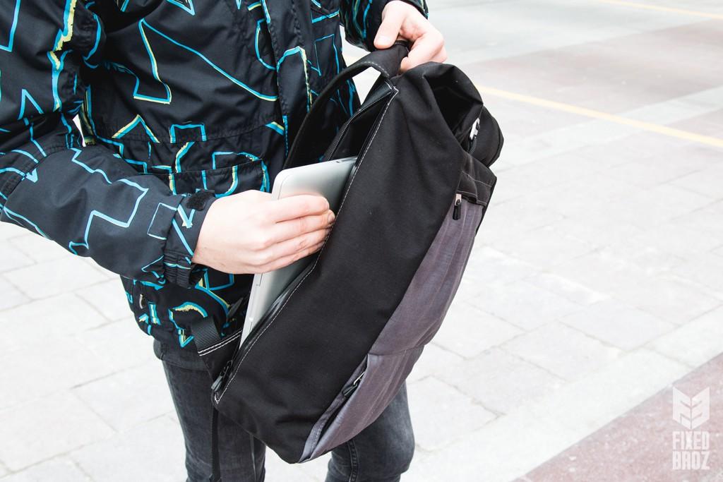 bagaboo wander hátizsák laptop zseb