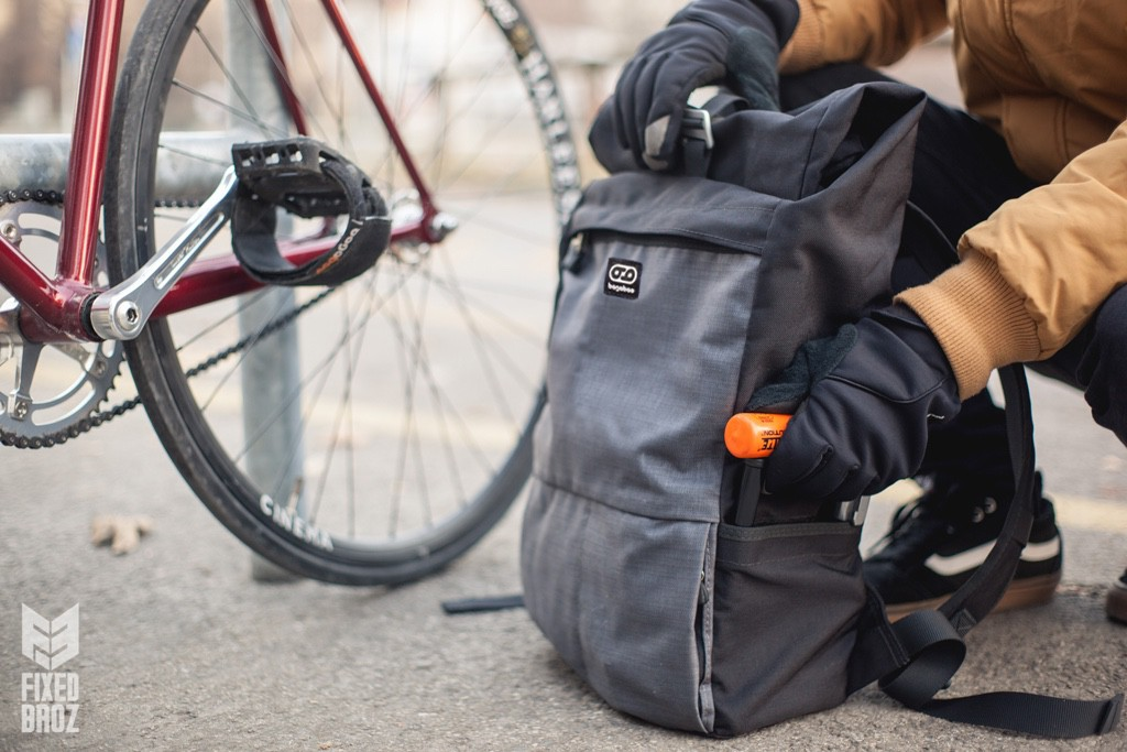 bagaboo wander hátizsák u-lakat tartó zseb