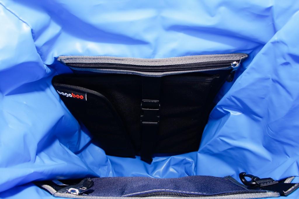 bagaboo jumbo hátizsák szivacsos zseb