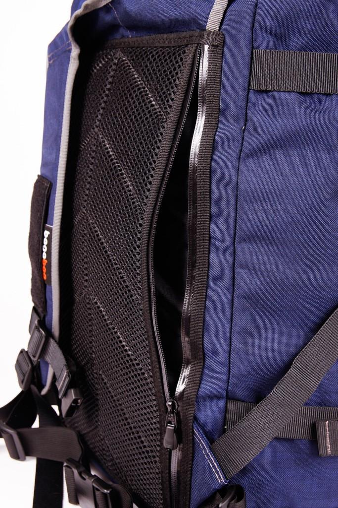 bagaboo jumbo hátizsák hátsó szivacs mögötti zseb