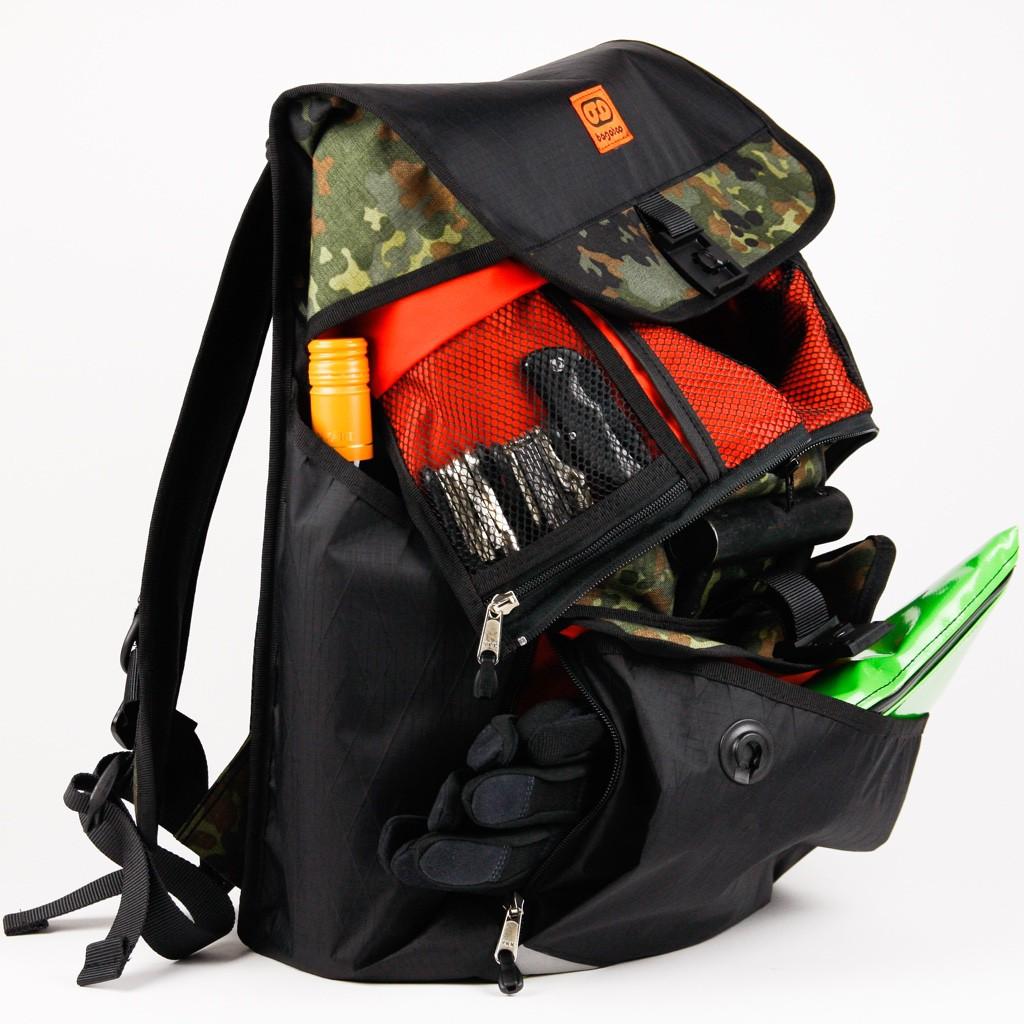 bagaboo lizzy hátizsák megpakolva